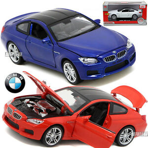Image Is Loading BMW M6 1 32 Alloy Diecast Model Car