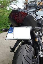Yamaha MT 07,MT07,MT-07  Kennzeichenhalter +LED!