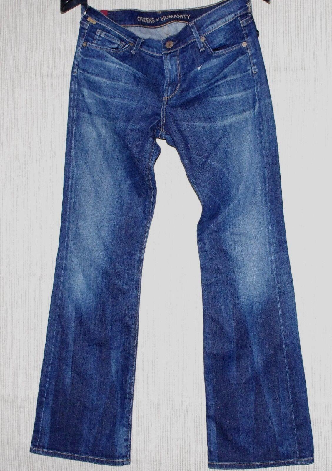 Citizens of Humanity bluee Medium Wash Women's Denim Boot Cut Jeans Size  30