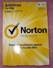 Norton AntiVirus Mac 1 user 1 year 366 days Free Updates for 1 year
