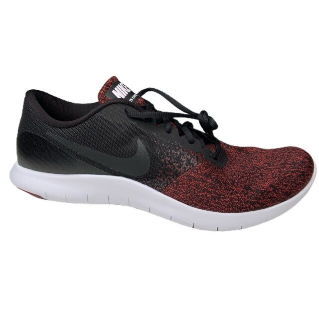 Nike Flex Contact Athletic Running Shoes Mens Size 13 Red/Black 908983-013 New