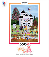 550 Piece Ceaco Jigsaw Puzzle Jane Wooster Scott - Birthday Mayhem on Sale