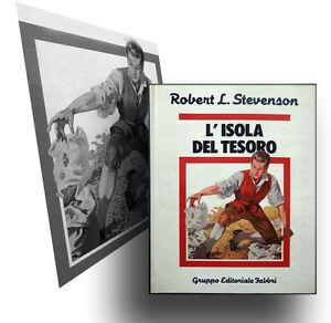 R-L-Stevenson-L-039-ISOLA-del-TESORO-Fabbri-1983-Ill-ni-di-TABET