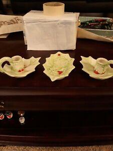 Vintage-christmas-noel-candle-holders