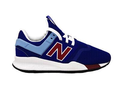 basket new balance bleu blanc rouge