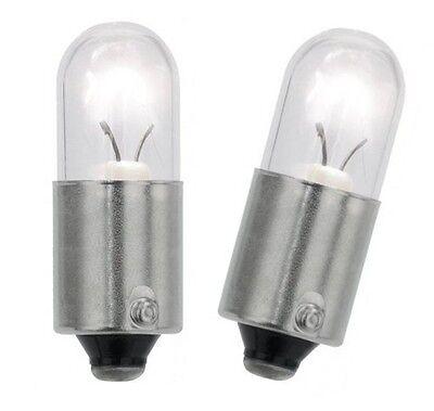 10x Ba9s T4W Glas Lampe Lima 12V 4 Watt Standlicht Glühbirne Auto KFZ Birne