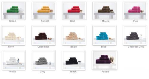 Uni-Colour//Gym//Sports//Yoga//Training Towel//100/%Cotton//Soft /& Absorbed//Bordur
