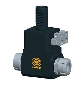 CHK40x13 VDI Keyless Drill Chuck w//EXT Coolant D=40mm D1= 1-13mm