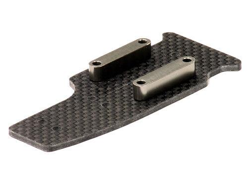 INTEGY RC Car T8256GREY Carbon Center Skid Plate for Hyper 10SC