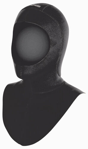 Bare Coldwater Hood 7mm, Long Collar - Head Cover - Diving Suit