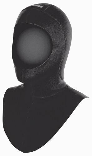 BARE COLDWATER HOOD 7mm, langer Kragen - Kopfhaube - Tauchanzug