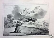 1873= ELIA ED ELISEO = BIBBIA= Antica Grande Stampa by BECQUET