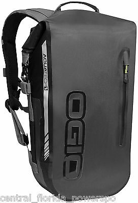 Ogio All Elements 22L Waterproof Back Pack Backpack Black Stealth Motorcycle PWC