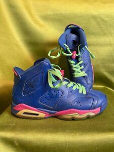 Nike-Air-Jordan-6-Retro-Game-Royal-Style-543390-439-Size-6Y-D3