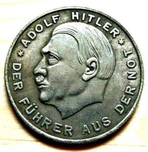 WW2-GERMAN-COMMEMORATIVE-REICHSMARK-COLLECTORS-COIN-LISTE-12-AH