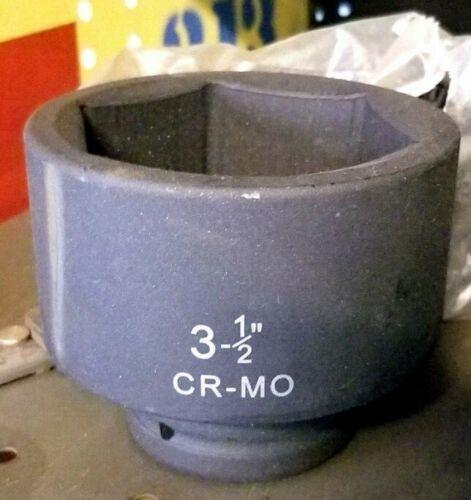 "3-1//2/"" 1/"" Drive Deep Well Socket CrMo Impact Grade"
