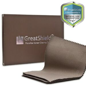 GreatShield 10x Reusable Lens Glasses Microfiber Screen Cleaning Cloth Wipes 849287090355