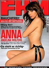 FHM 07/2009   ANNA ANGELINA WOLFERS & FUNDA VANROY*   Juli/2009