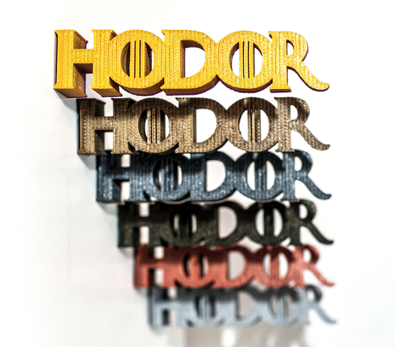 Hodor Door Stop Doorstop Stopper Wedge, Game Of Thrones Inspirot - (set of 6)