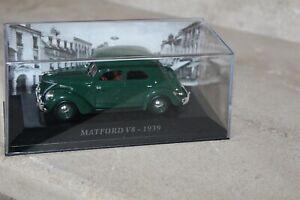 VOITURE-MATFORD-V8-1939-Vert-ALTAYA-1-43-VOITURE-D-039-AUTREFOIS