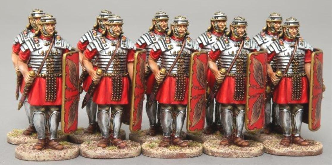 THOMAS GUNN ROMAN EMPIRE ROM024A ROMAN SENTRY RED RED RED SHIELD MIB 84e173