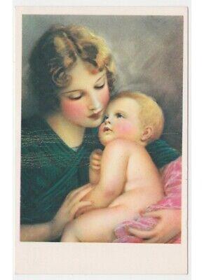Maman Enfant Bébé Câlin Carte Postale D'Époque Non - Neuve   eBay