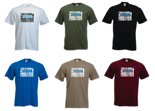 /'This is what an Awesome Window Cleaner looks like/' Cleaning Funny T-shirt Tee