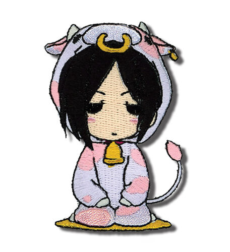"Black Butler Anime SEBASTIAN COW Patch 3/"" x 2.5/"" Licensed and authentic product"
