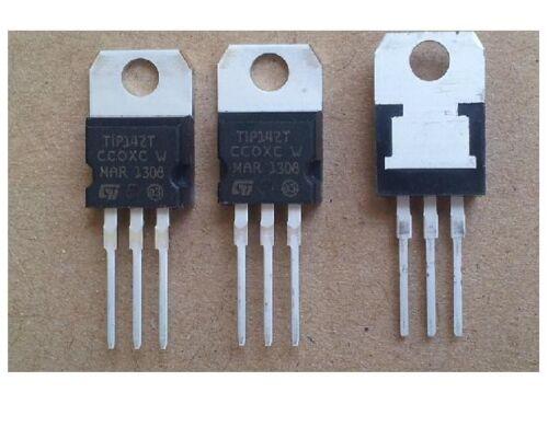10pcs TIP142 Transistor négatif Positif Négatif Darlington 100 V 10 A