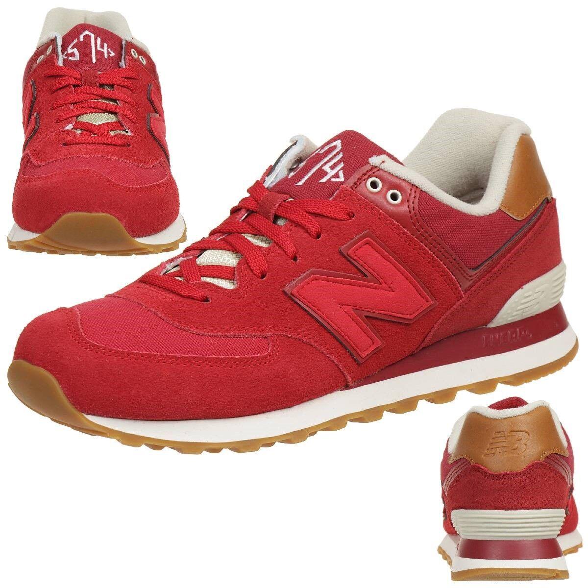 New Balance ML574 NEC Classic Sneaker Unisex Schuhe rot ML574NEC
