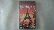ENDWAR END WAR TOM CLANCY´S NUEVO SONY PSP PAL ESPAÑA.PRECINTADO