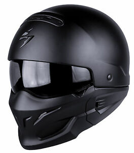 Casque-MOTO-helmet-SCORPION-EXO-COMBAT-SOLID-Taille-L-59-60-Streetmotorbike