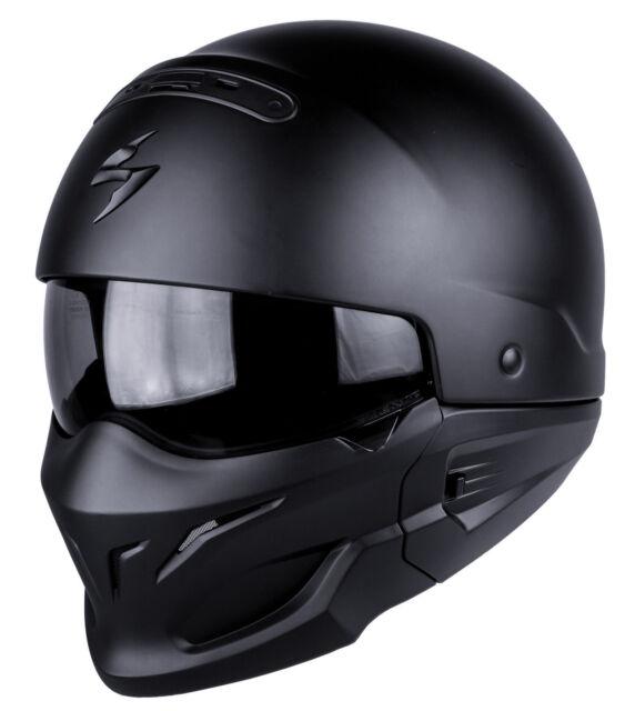 Casque MOTO helmet SCORPION EXO COMBAT SOLID Taille S 55 56