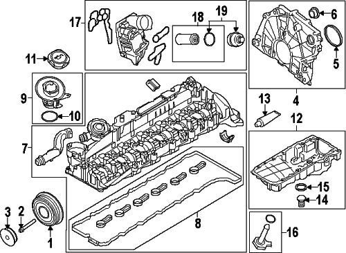 BMW 07-11-9-963-132GASKET RING#15 On Picture