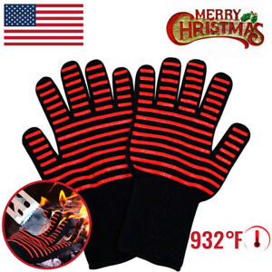 Heat-Resistant-Gloves-Oven-Hot-Grilling-BBQ-Mitts-932-Cooking-Extreme-Kitchen