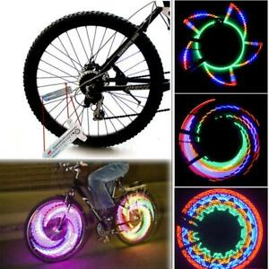 32-Pattern-LED-Bike-Bicycle-Wheel-Signal-Tire-Spoke-Light-Lamp-Cool-for-Cycling