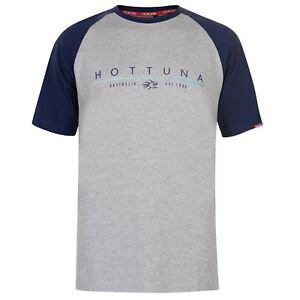 NEW Hot Tuna Mens Logo TShirt Top Short Sleeve Round Neck Black Mlti L AUSTRALIA