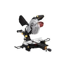 "NEW 10"" Sliding Compound Miter Saw 15 Amp. Motor, Make Cross Bevel Miter Cuts"