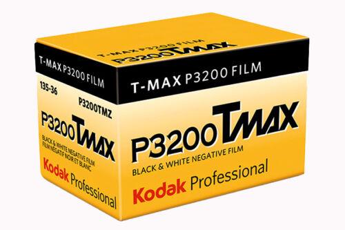 Kodak TMAX P3200 negro y blanco película 35 mm 36exp