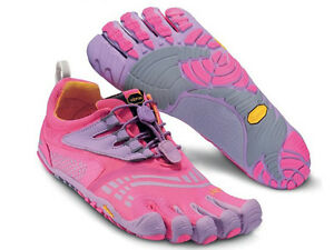 online store 55c23 729ae Image is loading VIBRAM-FIVEFINGERS-KMD-LS-WOMENS-FIVE-FINGERS-PINK-
