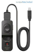 Sony Original RM-VPR1 Kabel-Fernbedienung für Sony SLT A Alpha, ILCE 7, A77