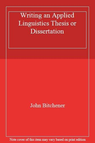 Dissertation abstracts online applied linguistics