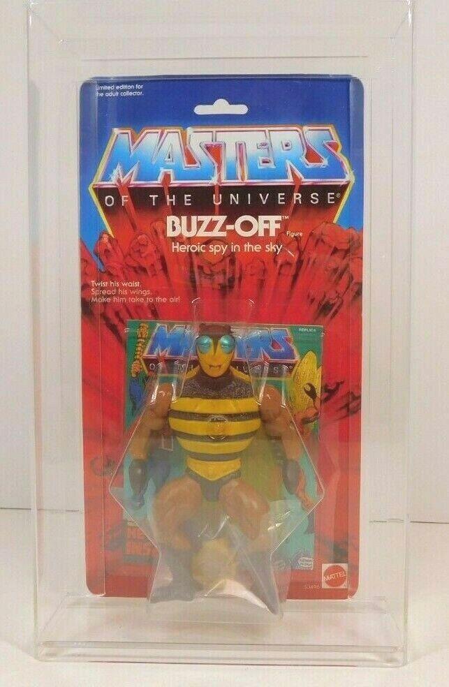 MASTERS OF THE UNIVERSE  COMMEMORATIVE SERIES BUZZ-OFF 2001  disegni esclusivi