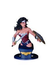 DC Super Heroes WONDER WOMAN bust~Jim Lee~DC Direct~Justice League~Batman~NIB
