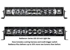 Rigid industries radiance plus with white back light led 20 light image is loading rigid industries radiance plus with white back light aloadofball Image collections