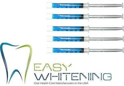 5 Syringes of Remineralization Gel for After TEETH WHITENING = Less Sensitivity