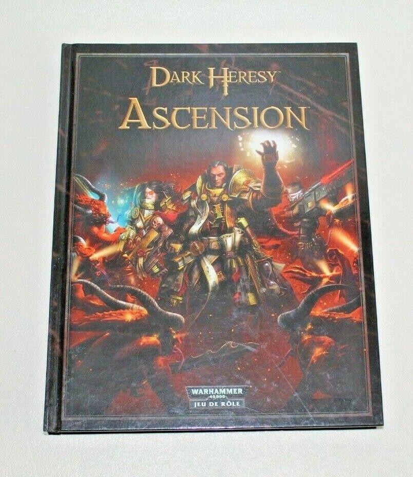Warhammer 40000-role play-dark heresy  ascension  haute qualité générale