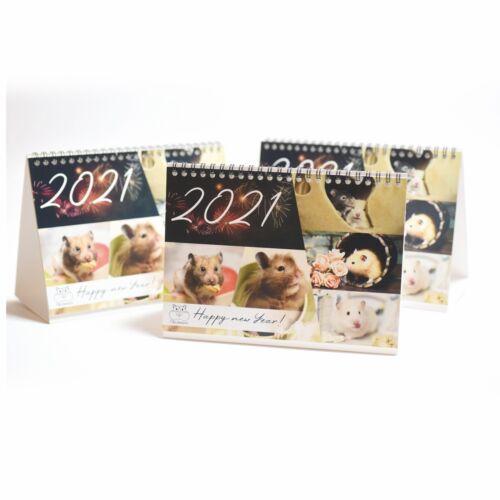 Hamster Kalender Tisch-kalender DIN A5 Monatskalender Teddyhamster Zwerghamster