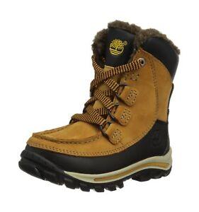 5 Unisex Unido 'Chillberg 12 Timberland Kids Boot para trigo niños Reino Marrón Waterproof S8vqdqw