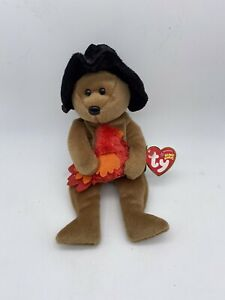TY BEANIE BABIES Collection ORIGINAL PLYMOUTH PILGRIM 2004 RETIRED Tush Tag 2005